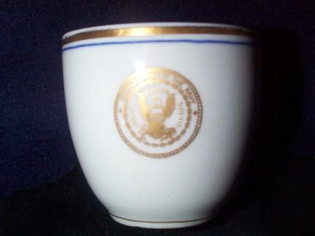 Antique Cup, Navy Department Seal