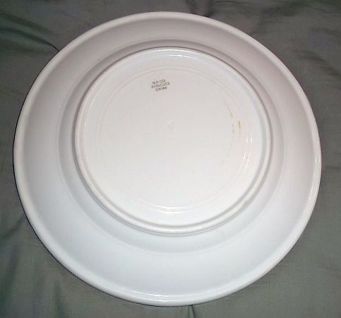Antique US Navy Dinner Plate 1898 OPCO Syracuse China