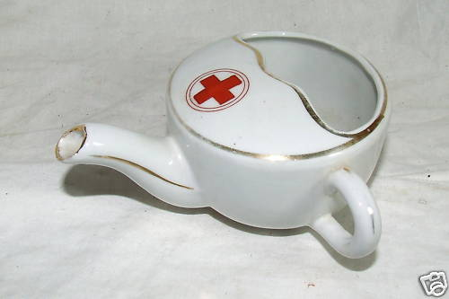 Hospital Feeding Cup with Traditional Red Cross