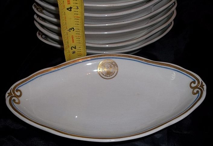 Antique US Dept of the Navy Serving Dish or Receiving Plate