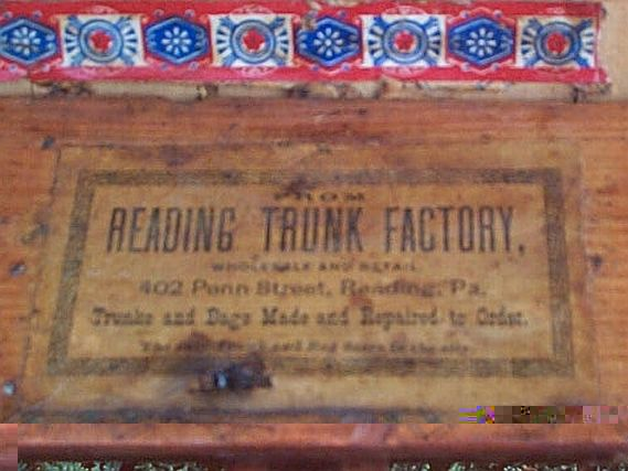 Antique Trunks Flat Top Or Dome Top With A Shadow Box And