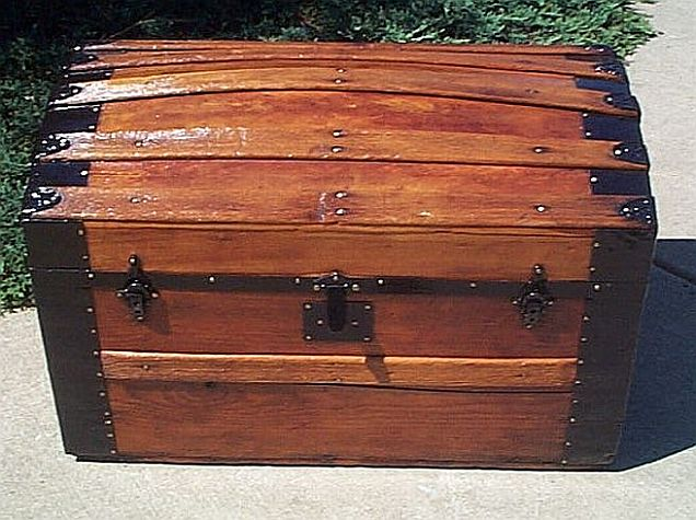 Antique trunk #235
