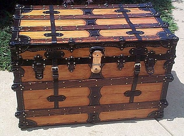 Antique trunk #237