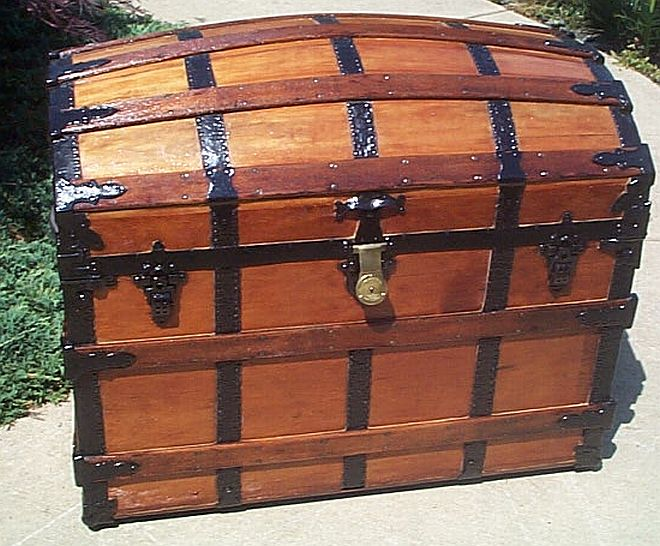 Antique trunk #238