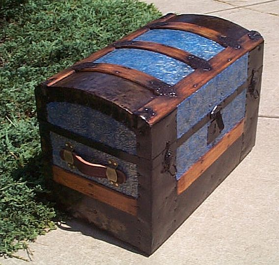 Antique Trunk #242