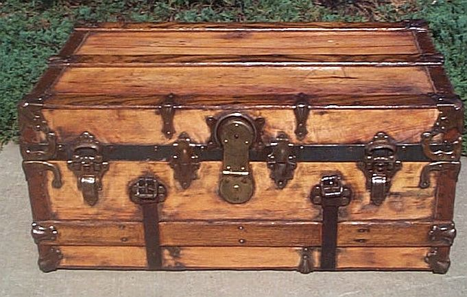 Antique Dome Top trunk #247