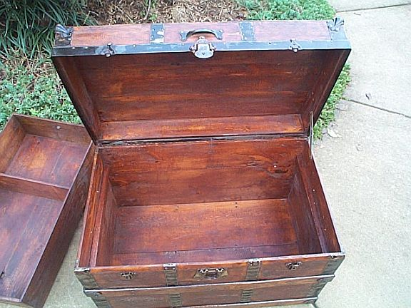 Antique Trunk #249