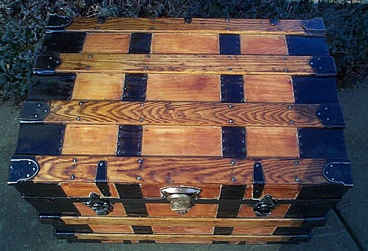 Antique Trunk #266