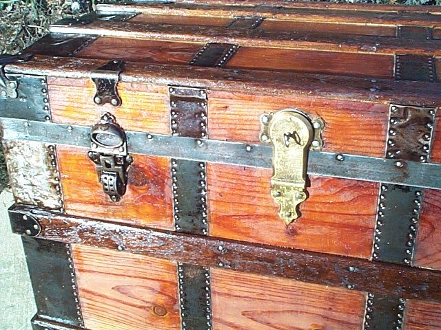 Restored Antique Trunks #269