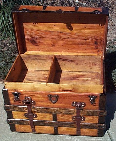 Refurbished Antique Trunk #271