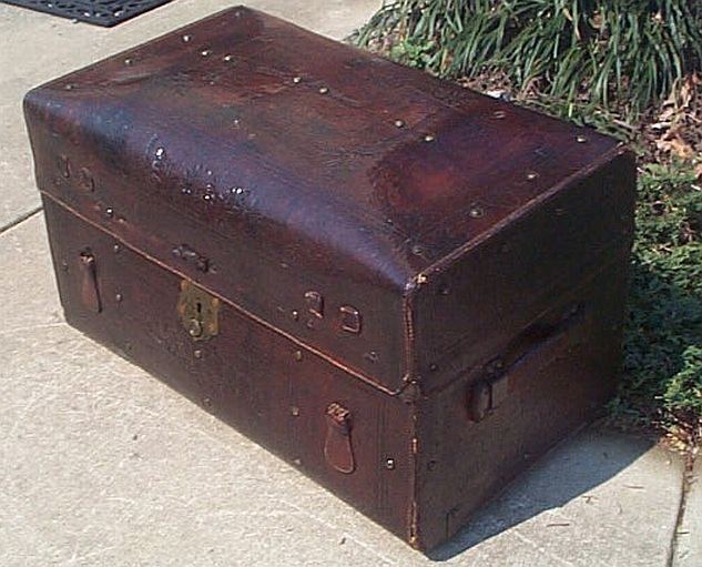 Refurbished Antique Trunks #273