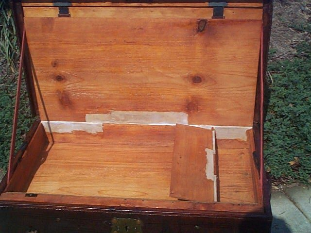 Refurbished Antique Trunk #273