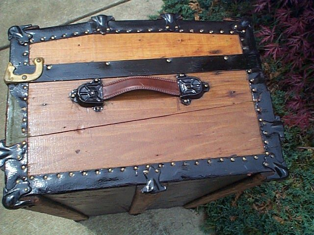 Refurbished Antique Trunk #276