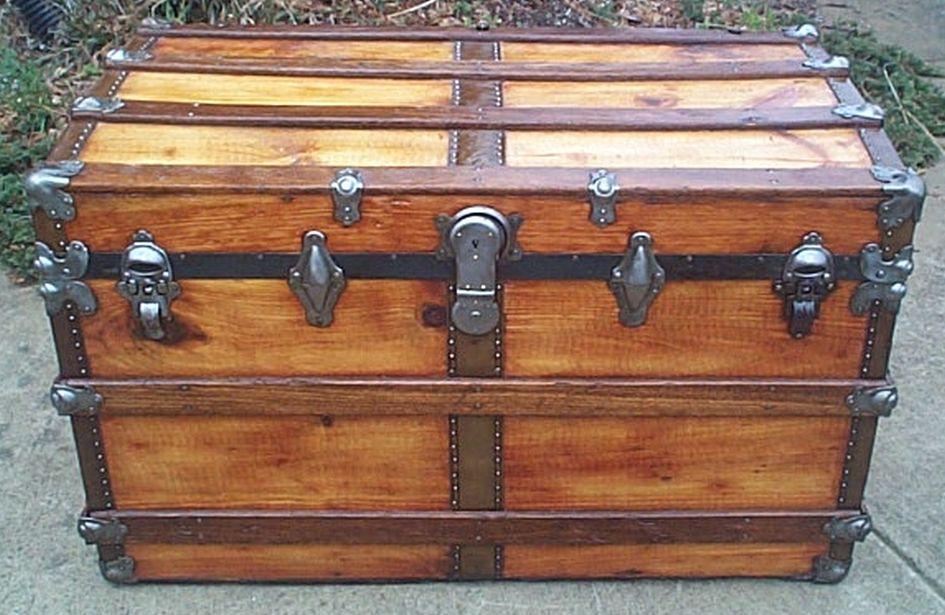 restored flat trunk 499