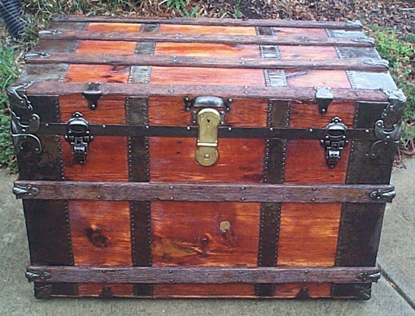 restored flat trunk 500