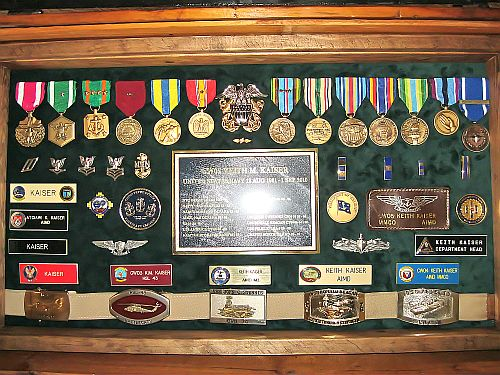 Military Retirement Shadow Boxes Ideas http://www.thepirateslair.com/antique-trunks/navy-retirement-shadow-box.html