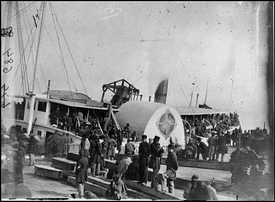 fort monroe embarkation of 9th Army Corp, Aquia Landing