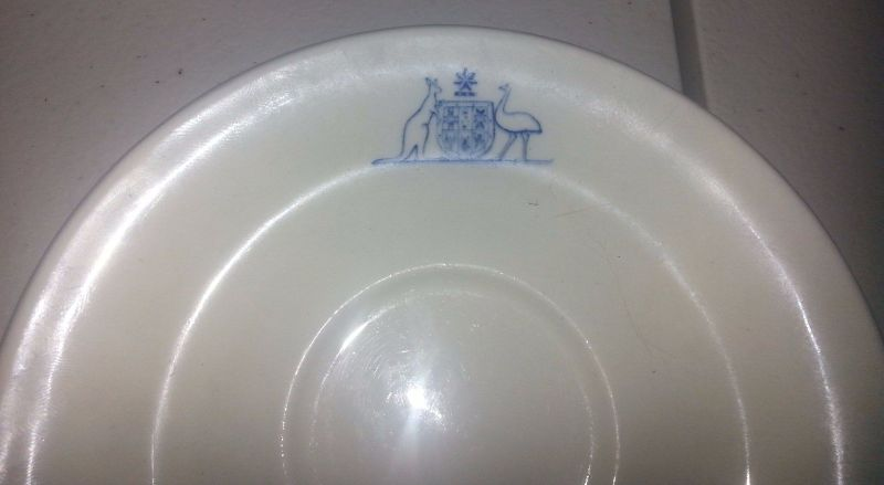 royal australian navy ran coffee cup and saucer