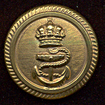 Imperial Austro Hungarian Empire Navy Uniform Button