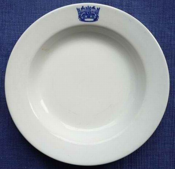 Royal Navy Chief Petty Officers Mess Dinner Plate