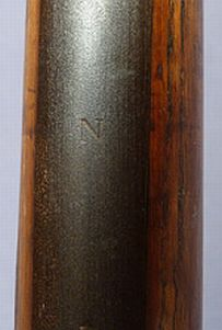 British Royal Navy Naval Boarding Pike model 1888 - letter N
