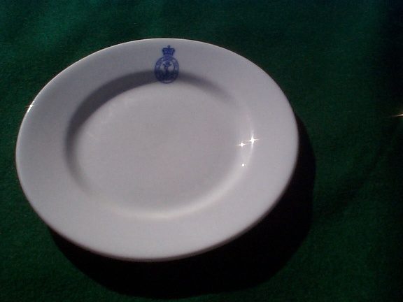 1964 British Royal Navy bread Plate