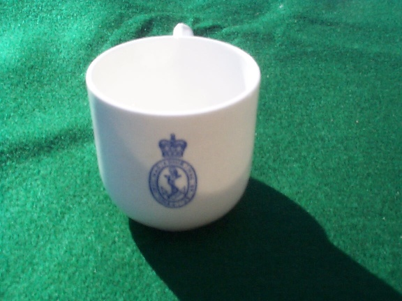 1964 British Royal Navy Demitasse Cup