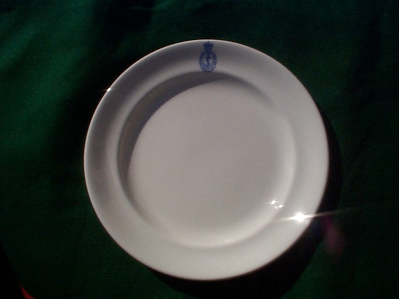 1964 British Royal Navy Dinner Plate
