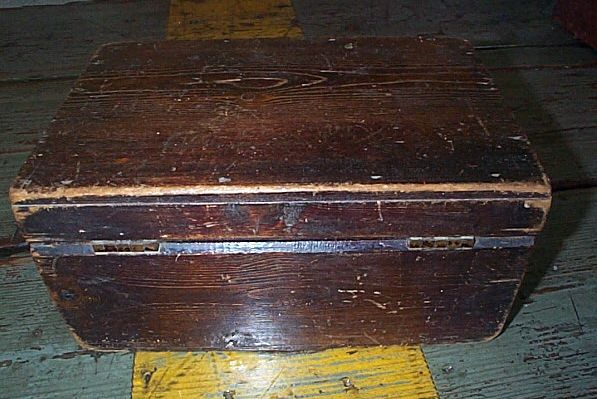 british royal navy standard issue regulation ditty box