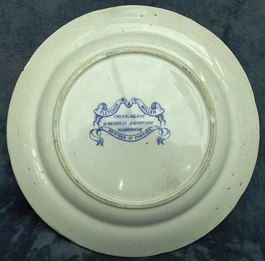 british royal navy mess plate no 20