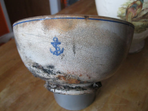 1907-1916 British Royal Navy General Mess Bowl
