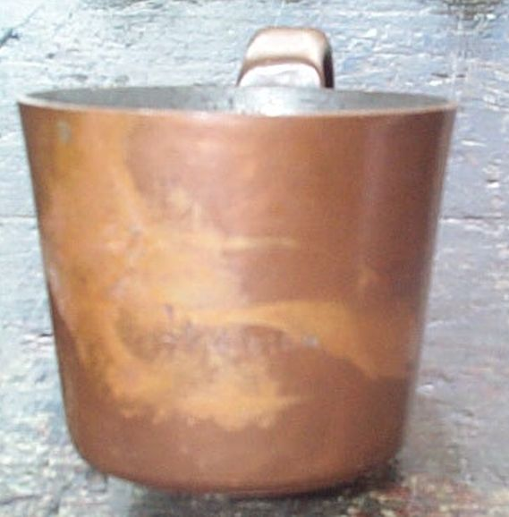 british royal navy rum cup 1 and 1/2 Gill 20th century