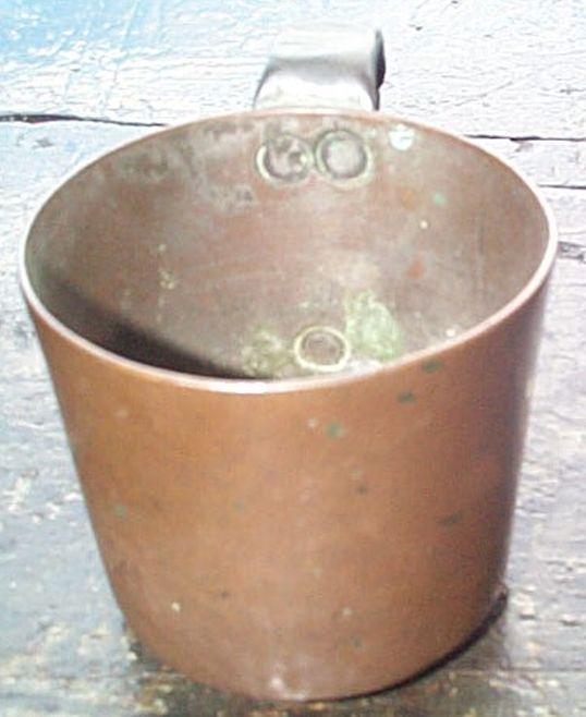 british royal navy rum cup 1/2 pint 19th century Queen Victoria
