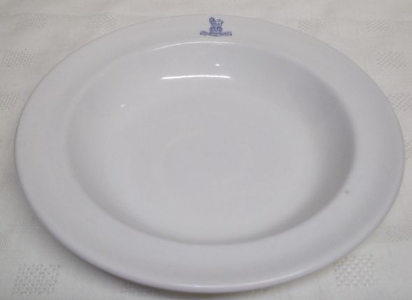 british royal marines dinner mess bowl