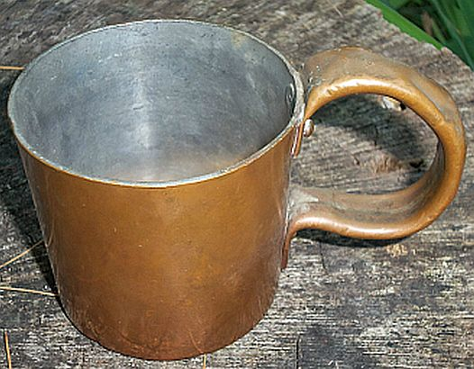 british royal navy rum cup 1/2 pint 20th century - GRV