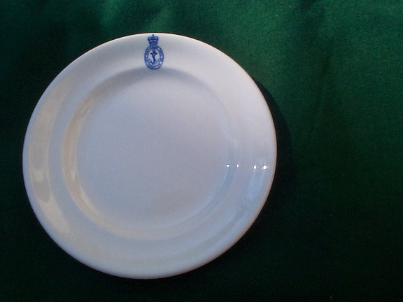 1964 British Royal Navy Salad Plate