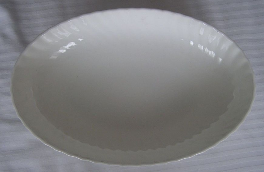 royal canadian china navy newer style serving dish