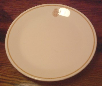 royal canadian china navy salad plate