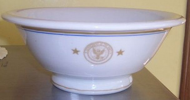 rear admiral, 2 stars, serving bowl