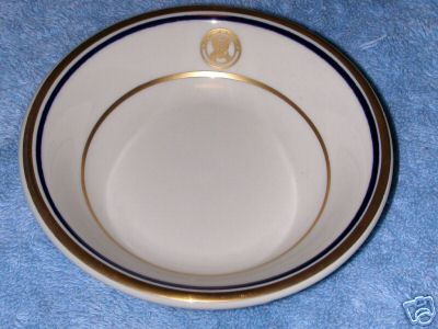 department of navy china berry bowl or side bowl
