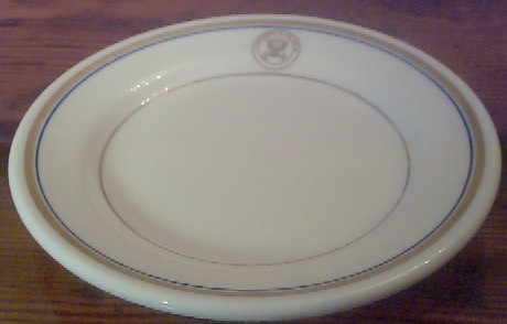 department of navy china salad plate
