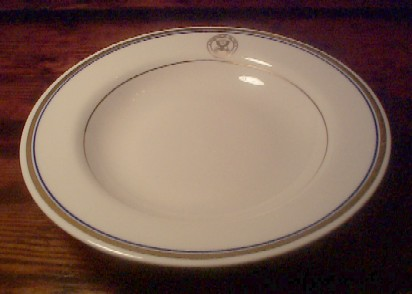 department of the navy vintage china cereal bowl