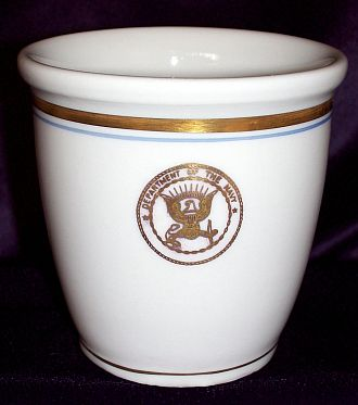 department of navy handless watchstanding mug
