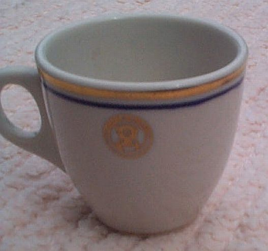 department of the navy vintage china demitasse coffee cup