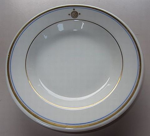 Vice admiral, 3 stars, serving bowl