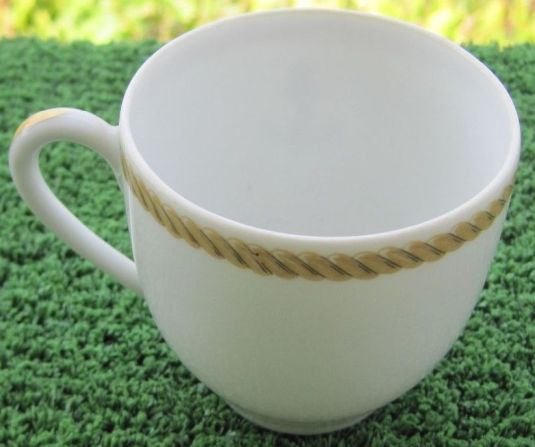 french navy demistasse coffee cup  for wardroom officers mess