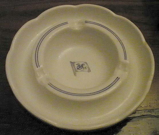 Ashtray German North Sea Shipping Line Norddeutscher Lloyd