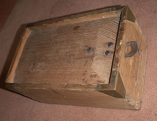 Antique WWI German German Navy Sailors Kaiserliche Marine and Reichsmarine regulation Ditty Box, Sea Chest or Sea Trunk