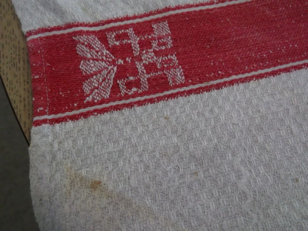 kriegsmarine towel red