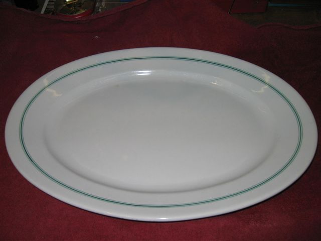 kriegsmarine platter green stripes